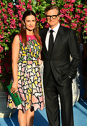 File photo dated 16/7/2018 of Livia Giuggioli and Colin Firth. The actor has split from his wife, the Italian film producer, after 22 years of marriage.