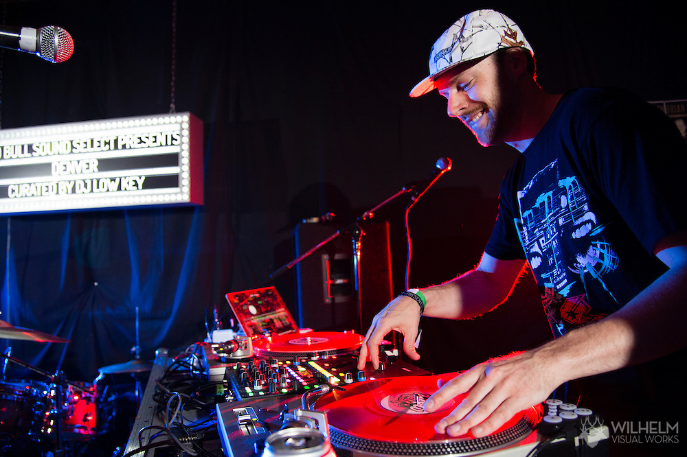 Fast4ward is joined on stage by Chris Karns during his performance at Red Bull Sound Select Presents Denver at Lost Lake Lounge in Denver, CO, USA, on 25 June, 2015.