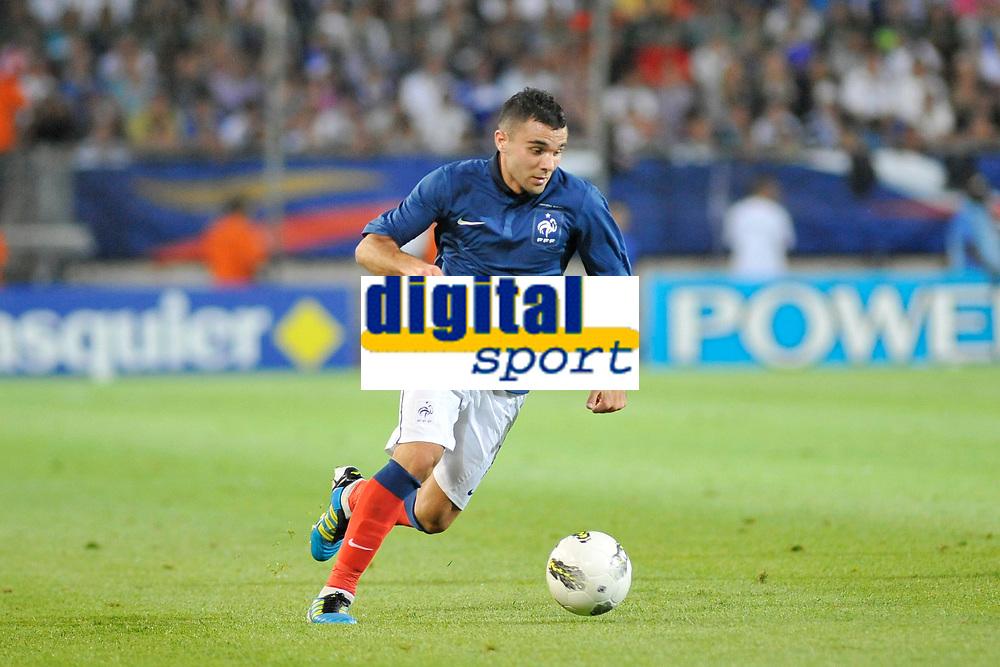 FOOTBALL - FRIENDLY GAME - FRANCE v CHILI - 10/08/2011 - PHOTO SYLVAIN THOMAS / DPPI - MARVIN MARTIN (FRA)