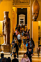 Egyptian antiquities, Louvre Museum, Paris, France.