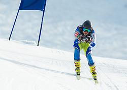 SKAZA Ziga  of Slovenia during Men's Super Combined Slovenian National Championship 2014, on April 1, 2014 in Krvavec, Slovenia. Photo by Vid Ponikvar / Sportida