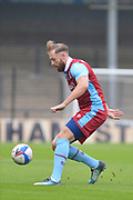 Kevin van Veen (10) of Scunthorpe United during the Pre-Season Friendly match between Scunthorpe United and Doncaster Rovers at Glanford Park, Scunthorpe, England on 15 August 2020.