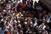 Israel, Jerusalem The Via Dolorosa Easter Procession, Good Friday, Easter 2007