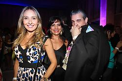 Juliana Leal , Valkiria Schotkis e Éden José na festa de inauguração do Viva Open Mall. FOTO: Dani Barcellos/ Agência Preview