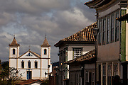 Santa Luzia_MG, Brasil...A cidade Santa Luzia concentra um belo e expressivo conjunto arquitetonico dos seculos XVIII E XIX em Minas Gerais. Na foto, a Igreja do Rosario, edificada em 1751 pela Irmandade dos Negros...The city Santa Luzia  concentrates a beautiful and expressive architectural complex in Minas Gerais. In the photo, the Rosario Church, built in 1751 by the Brotherhood of Black...Foto: LEO DRUMOND / NITRO