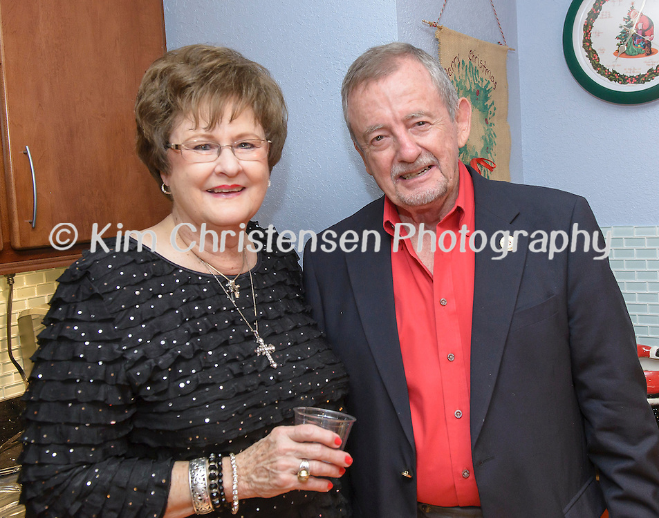 Lee College Dr. Brown Holiday Party at his home in Baytown, Tx. 12/13/15. (Photos by ©Kim Christensen)