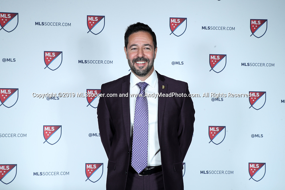 CHICAGO, IL - JANUARY 11: Orlando City SC executive vice president of soccer operations Luiz Muzzi. The MLS SuperDraft 2019 presented by adidas was held on January 11, 2019 at McCormick Place in Chicago, IL.