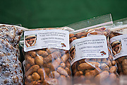 Boiled peanuts at the Historic Charleston City Market on Market Street in Charleston, SC.