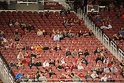 Few San Francisco 49ers fans remained at Levi's Stadium during a blowout game against the Arizona Cardinals in Santa Clara, Calif., on October 6, 2016. (Stan Olszewski/Special to S.F. Examiner)