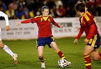 Fifa Womans World Cup Canada 2015 - Preview //  Friendly Match -<br /> Spain vs New Zealand 0-0  ( Municipal Stadium - La Roda , Spain ) <br /> Natalia Pablos of  Spain