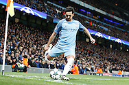 Manchester City's Ilkay Gundogan (8) during the Champions League match between Manchester City and Celtic at the Etihad Stadium, Manchester, England on 6 December 2016. Photo by Craig Galloway.