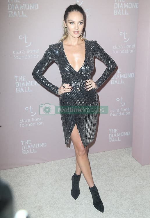 Celebs at Rihanna's 4th Annual Diamond Ball in New York. 14 Sep 2018 Pictured: Candice Swanepoel. Photo credit: MEGA TheMegaAgency.com +1 888 505 6342