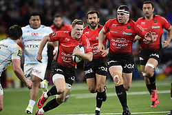 April 8, 2018 - Nanterre, France, France - Christopher John Ashton (Rc Toulon) / Guilhem Guirado  (Credit Image: © Panoramic via ZUMA Press)