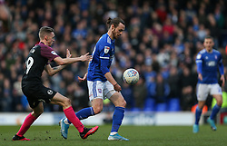 Will Keane of Ipswich Town on the ball - Mandatory by-line: Arron Gent/JMP - 01/02/2020 - FOOTBALL - Portman Road - Ipswich, England - Ipswich Town v Peterborough United - Sky Bet League One