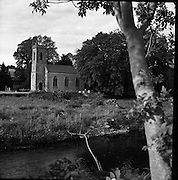 A Churchyard at Stoneyford, Co. Kilkenny. 05/07/1953