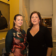 08.12.2016                   <br /> Pictured at the launch of the Shannon Airport Christmas Racing Festival at Hunt Museum were, Amy O'Regan, Limerick Racecourse and Karen Shanahan, Limerick Racecourse. Picture: Alan Place