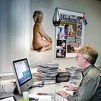 Nederland, Amsterdam , 30 november 2009. .Een kijkje op de redactie van het roddelblad Weekend..Foto:Jean-Pierre Jans