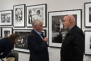 DON MCCULLIN, Opening of Photo London, 2018. Somerset House. London. 16 May 2018