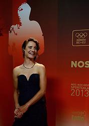 17-12-2013 ALGEMEEN: SPORTGALA NOC NSF 2013: AMSTERDAM<br /> In de Amsterdamse RAI vindt het traditionele NOC NSF Sportgala weer plaats. Op deze avond zullen de sportprijzen voor beste sportman, sportvrouw, gehandicapte sporter, talent, ploeg en trainer worden uitgereikt / Marianne Vos, sportvrouw van het jaar<br /> ©2013-FotoHoogendoorn.nl