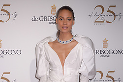 Cindy Bruna attending the DeGrisogono party during the 71st Cannes Film Festival in Antibes, France, on May 15, 2018. Photo by Julien Reynaud/APS-Medias/ABACAPRESS.COM