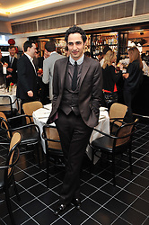 ZAC POSEN at a brunch hosted by Zac Posen to launch the Belvedere Bloody Mary Brunch held at Le Caprice, 25 Arlington Street, London on 7th April 2011.