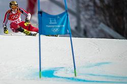 PYEONGCHANG-GUN, SOUTH KOREA - FEBRUARY 18: Erik Read of Canada competes during the Alpine Skiing Men's Giant Slalom at Yongpyong Alpine Centre on February 18, 2018 in Pyeongchang-gun, South Korea. Photo by Ronald Hoogendoorn / Sportida