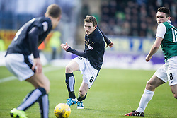 Falkirk's Blair Alston. <br /> Falkirk 1 v 1 Hibernian, Scottish Championship game played 17/1/2015 at The Falkirk Stadium.