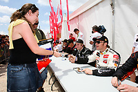 20100527: LOULE, ALGARVE, PORTUGAL - Portugal WRC Rally 2010 - Drivers signing autographs. In picture: Petter Solberg (NOR) - Citroen. PHOTO: CITYFILES