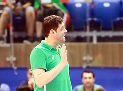 June 16, 2018 - Varna, Bulgaria - coach Plamen KONSTANTINOV (Bulgaria),  .mens Volleyball Nations League,week 4, Bulgaria vs Canada, Palace of culture and sport, Varna/Bulgaria, June 16, 2018, the fourth of 5 weekends of the preliminary lap in the new established mens Volleyball Nationas League takes place in Varna/Bulgaria. (Credit Image: © Wolfgang Fehrmann via ZUMA Wire)