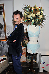 MATTHEW WILLIAMSON at the launch of Maison Triumph, 71 Monmouth Street, Covent Garden, London on 14th February 2013.
