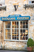 Durham House Antiques Centre in famous Cotswold town of Stow-on-the-Wold in The Cotswolds, Gloucestershire, UK
