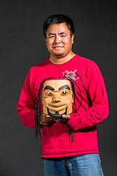 Adaka Cultural Festival 2016, Whitehorse, Yukon, Canada, Yukon First Nation Culture and Tourism Association, Kwanlin Dun Cultural Centre, Duran Henry, carver