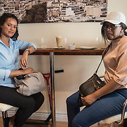 Eden Coffee Roasters opening day Ethiopian cuisine coffee and drink at 196 North End Road on 5 May 2018 at West Kensington, London, UK