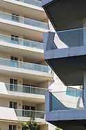 CityLife Milano, resdential and business district. Apartments by Daniel Libeskind