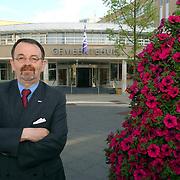 NLD/Huizen/20050618 - Carel Bikkers, fractie voorzitter en lijsttrekker VVD Huizen, voorzitter raad van bestuur Audax