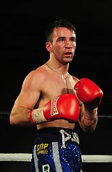 Lee Haskins - Photo mandatory by-line: Dougie Allward/JMP - Tel: Mobile: 07966 386802 27/04/2013 - SPORT - FOOTBALL - City Academy Sports Centre - Bristol - Lee Haskins V Martin Ward - British bantamweight title