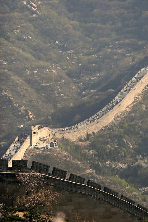 The Great Wall at Badaling.