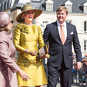 LUX/Luxemburg/20180523 - Staatsbezoek Luxemburg dag 1, Groothertogin Maria Teresa, Koning Willem Alexander, Koningin Maxima