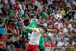 June 19, 2018 - Moscow, Vazio, Russia - Lewandowski and S. Sane during a match between Poland and Senegal, valid for the first round of group H of the 2018 World Cup, held at Spartak Stadium in Moscow, Russia, (Credit Image: © Thiago Bernardes/Pacific Press via ZUMA Wire)