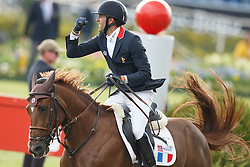 Delestre Simon, (FRA), Ryan Des Hayettes<br /> Team completion and 2nd individual qualifier<br /> FEI European Championships - Aachen 2015<br /> © Hippo Foto - Dirk Caremans<br /> 20/08/15