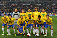 FOOTBALL - FRIENDLY GAME 2010/2011 - FRANCE v BRAZIL - 9/02/2011 - PHOTO JEAN MARIE HERVIO / DPPI - TEAM BRAZIL