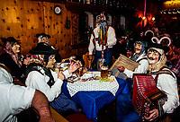 Fasching (Winter Carnival), Garmisch-Partenkirchen, Bavaria, Germany.