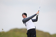 Stuart Grehan (Tullamore) on the 13th fairway during Round 3 of the East of Ireland Amateur Open Championship at Co. Louth Golf Club, Baltray on Monday 1st June 2015.<br /> Picture:  Thos Caffrey / www.golffile.ie