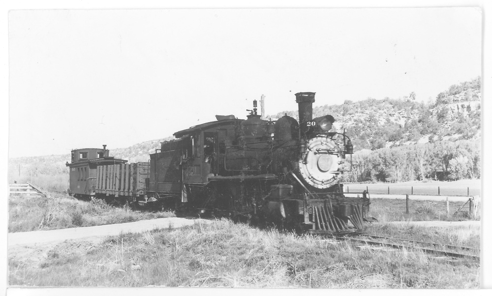 RGS #20 northbound just north of Dolores.<br /> RGS  Dolores, CO  Taken by Maxwell, John W. - 5/26/1949