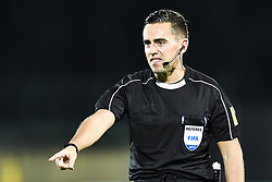 October 5, 2017 - San Marino, SAN MARINO - 171005 Andrew Dallas of Scotland, referee, during the FIFA World Cup Qualifier match between San Marino and Norway on October 5, 2017 in San Marino. .Photo: Fredrik Varfjell / BILDBYRN / kod FV / 150027 (Credit Image: © Fredrik Varfjell/Bildbyran via ZUMA Wire)