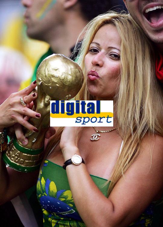 Fan Brasilien , fans illustrasjon<br /> Fussball WM 2006 Kroatien - Australien<br /> Kroatia - Australia<br /> Norway only
