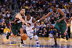 20120316 - Milwaukee Bucks at Golden State Warriors