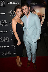 August 9, 2017 - New York, NY, USA - August 9, 2017  New York City..Tess Sanchez, Max Greenfield attending 'The Glass Castle' film premiere on August 9, 2017 in New York City. (Credit Image: © Kristin Callahan/Ace Pictures via ZUMA Press)