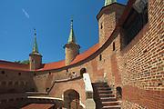 Barbican - inside, Cracow, Poland
