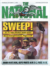 Oakland A's, The National Sports Daily, 1990
